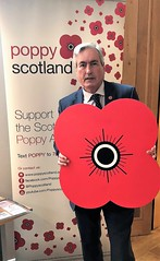 Backing Scottish Poppy Appeal