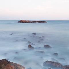 Towards an island ...... (Chamikajperera) Tags: sea seascape landscape long expo exposure canon 6d