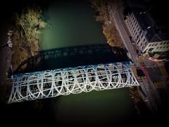 Hans Wildorf bridge (Nikko-photography) Tags: drone ponts bridge geneve suisse dronefootage dji multicopter mavic city picture