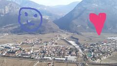 Calliano panorama (PORTOBESENO) Tags: adige rosspach calliano panorama castel beseno vallagarina decorazione flora