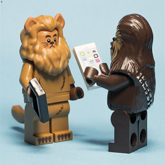 I Need Your Barbers Number (Jezbags) Tags: hair haircut style lion wizardofoz chewie chewbacca starwars phone mobile canon canon80d 80d 100mm macro macrophotography macrodreams macrolego lego legos toy toys legomovie2