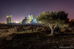Industrial Light & Magic (Antonio Esteve) Tags: fabrica nocturna estrellas cementos 2019 industrial alicante provinciadealicante españa es