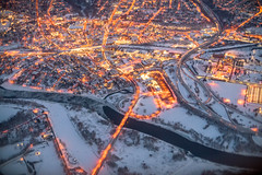 Albany, NY (ruifo) Tags: nikon d850 nikkor 50mm f12 ais us usa united states america landscape snow winter polar vortex january 2019 inverno neve nieve invierno weather aerial albany ny new york suburb suburbs aerea aérea luz luzes luces light lughts sun rise sunrise
