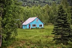Sherman City Hall, Alaska (crafty1tutu (Ann)) Tags: travel holiday 2018 canadaandalaska alaska shermancityhall cabin woods forest crafty1tutu canon5dmkiii canon24105lserieslens anncameron