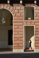 Prefecture of Turin (Thomas Roland) Tags: prefettura di torino kommunekontor prefecture detail detalje arch architecture window wall house building europe travel efterår autumn herbst 2018 nikon d7000 europa city by turin tourists tourism tourist italy italia italien rejse