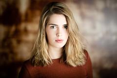 Studio session (dawolf-) Tags: strobist singlelight studio actress indoor blonde woman girl headshot portrait flash reflector