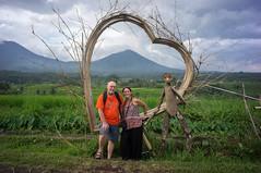 around Jatiluwih (kuuan) Tags: manualfocus mf voigtländer15mm cvf4515mm 15mm bali indonesia sonynex5n riceterace jatiliwuh tabanan view mountbatukaro sign love tourism heart friends