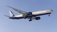 Aeroflot Boeing 777-300ER VQ-BUB (Zhuravlev Nikita) Tags: spotting elizovo kamchatka uhpp boeing 777 b777 aeroflot