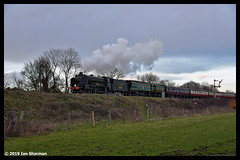 No 926 Repton No 34081 92 Squadron 10th March 2019 Nene Valley Railway Southern Steam Gala (Ian Sharman 1963) Tags: no 926 repton 10th march 2019 nene valley railway southern steam gala 34081 92 squadron class wc bb west country and battle of britian 462 station engine rail railways train trains loco locomotive passenger heritage line nvr wansford peterborough yarwell junction