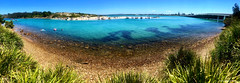 Boxing Day 2018, Breckenridge Channel & Sydney Sandspit, Wallis Lake, From Gregory Reserve, #Forster, Mid North Coast, NSW (Black Diamond Images) Tags: boxingday2018 breckenridgechannel sydneysandspit wallislake forster midnorthcoast nsw gregoryreserve appleiphonex iphonexbackcamera iphonex iphone iphonexpanorama panorama iphonepanorama relaxing beautifulforster australia greatlakes greatlakesnsw