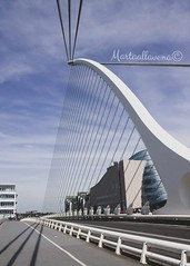Samuel Beckett Bridge (martaallavena) Tags: dublin dublino bridge ireland irlanda prospective blusky