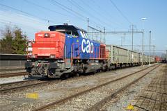 SBB Am 843 075 Kaiseraugst (daveymills37886) Tags: sbb am 843 075 baureihe cargo kaiseraugst