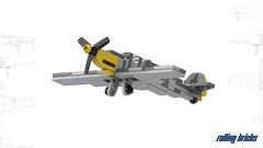 Messerschmitt BF109 (Rolling bricks) Tags: lego wwii worldwar messerschmitt fighter bf109 me109 luftwaffe airforce ww2 microscale deutschland airplane aircraft militaryaircraft army aviation militaryaviation military