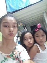 Ashley, I and Sasha (ghostgirl_Annver) Tags: asia asian girls ashley annver sisters friend family teens kids children portrait smiling
