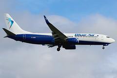 YR-BMM | Boeing 737-82R/W | Blue Air (operating for LOT) (cv880m) Tags: london egll heathrow lhr gb uk aviation airliner airline aircraft airplane jetliner airport yrbmm boeing 737 738 737800 73782r winglet blueair romania lot
