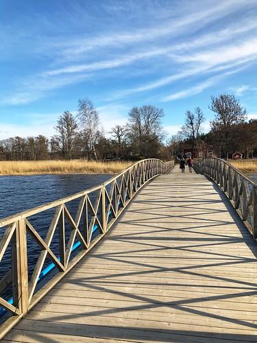 Bridge over ...  water