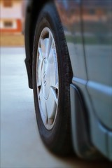 Our Daily Challenge: Hit The Road Jack (Sue90 thanks everyone your wishes got me through) Tags: canon 6d odc hittheroadjack road tire car