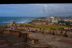 Ft San Cristobal & San Juan seen from upper parapet (Light Orchard) Tags: caribbean travel sanjuan puertorico cruise trip vacation holiday ©2019lightorchard bruceschneider history