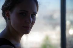 A Lift in Brussels (RickB500) Tags: portrait girl rickb rickb500 model beauty expression face cute hair nicole kidakakash