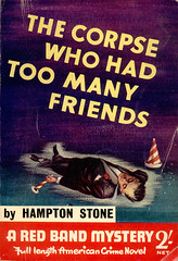 Foulsham 1956 The Corpse who had too many Friends (uk vintage) Tags: foulsham digest thecorpsewhohadtoomanyfriends hamptonstone unknownartist
