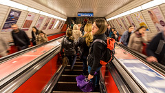 metro perspective (The eclectic Oneironaut) Tags: 2015 6d viajes budapest canon eos hungary hungria metro subway europe
