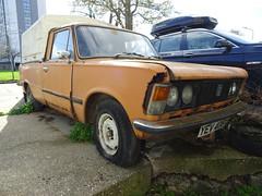1982 FSO Cars 125p Pickup (Neil's classics) Tags: vehicle 1982 fso cars 125p pickup 1481cc abandoned car
