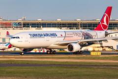 TC-JOG Turkish Airlines Airbus A330-303 (buchroeder.paul) Tags: eddl düsseldorf international airport germany europe dusk ground tcjog turkish airlines airbus a330303