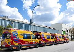 NUEVAS VW Crafter. Samur-PC (juanemergencias) Tags: coche car vehicle vehiculo samur pc proteccioncivil madrid españa spain vw crafter volkswagen madridmemata madridmemola rescate rescue emergency emergencia ambulance ambulancia svb samurpc nikon d7100 stilconversion pinto rotec nuevo new