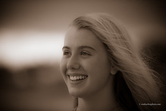 Willow Beach (Thanks for 1,000,000+ views) Tags: beach sea water atlanticocean isleofpalms summer vacation hair long short bokeh gorgeous smile grin black outdoor lightroom people diffused light sunshine shade natural eyes teeth glamour skin getty soft art depth field pictures 2018 f28 70200mm d750 fx nikon copyright clothes top bottom escape forest photographer golden hour girl aplaceforportraits naturallight