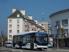 Heuliez GX 337 Linium Elec (ChristopherSNCF56) Tags: heuliez bus gx337 linium elec electrique lorient ctrl t1a transport urbains