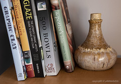 A Love for Making Pots (photoeclectia1) Tags: pottery ceramics books comfort