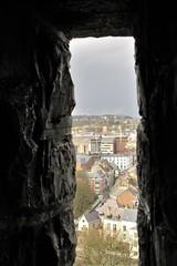 Glimpse of city from the Citadelle, Namur, Belgium (Paul McClure DC) Tags: namur namen belgium belgique wallonia wallonie feb2018 historic architecture scenery castle citadel ardennes