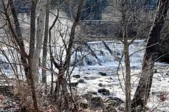 High Water at Sharon Woods (durand clark) Tags: waterfall sharonwoodspark cincinnati ohio southwestohio sharonville rain dam nikonz6 nikon2470f4s creek highwater
