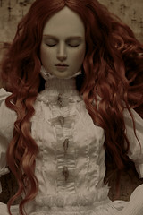 moths (dolls of milena) Tags: bjd abjd moth portrait resin doll aishat black cherry