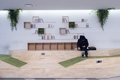 (miss_michelle) Tags: architecture asia design dongdaemun korea seoul southkorea people
