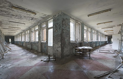 Pripyat Public School № 3 (Sean M Richardson) Tags: abandoned school chernobyl exclusion zone disaster travel explore canon photography history fall autumn pripyat books decay details texture light color