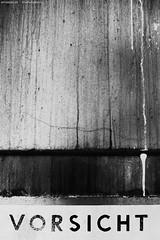 VORSICHT - CAUTION (KnutAusKassel) Tags: vorsicht caution bw blackandwhite blackwhite nb noirblanc monochrome black white schwarz weiss blanc noire blanco negro schwarzweiss grey gray grau einfarbig