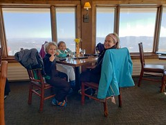 Lunch At The Cliff House (Joe Shlabotnik) Tags: stowe vermont violet proudparents everett sue cameraphone galaxys9 february2019 2019