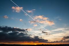 Sunset / @ 18 mm / 2019-02-22 (astrofreak81) Tags: explore clouds shadow schatten sunset sun wolken sonnenuntergang sonne sky himmel heaven light dawn orangesky orange dresden 20190222 astrofreak81 sylviomüller sylvio müller