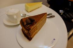 Chocolate and cheesecake (A. Wee) Tags: newyork ny nyc usa 美国 纽约 ladym cake coffee 咖啡 chocolate 巧克力 cheesecake