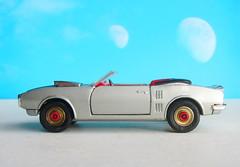 Corgi Toys No. 343 Pontiac Firebird 1969 With Red Spot Wheels : Diorama Futuristic Double Moon - 11 Of 13 (Kelvin64) Tags: corgi toys no 343 pontiac firebird 1969 with red spot wheels diorama futuristic double moon