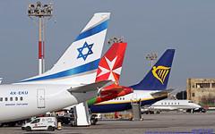 4X-EKU LMML 06-03-2019 El Al Israel Airlines Boeing 737-8Z9 CN 33834 (Burmarrad (Mark) Camenzuli Thank you for the 17.2) Tags: 4xeku lmml 06032019 el al israel airlines boeing 7378z9 cn 33834