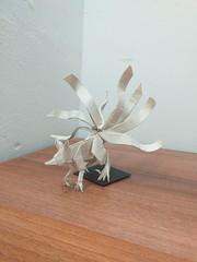 Nine-tailed fox (Lê Huỳnh Đức) Tags: origami art fantasy fox paper paperart ninetailedfox