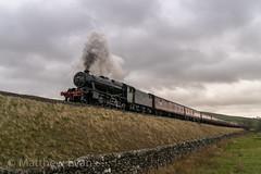 Charging eight (Matt.Evans44871) Tags: 48151 wcrc cleethorpes carlisle sc thunderer steam locomotive settle helwith bridge train 8f dull