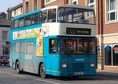 Arriva Volvo Citybus 4333 H682GPF - Derby (dwb transport photos) Tags: arriva volvo citybus eastlancs bus decker 4333 h682gpf derby