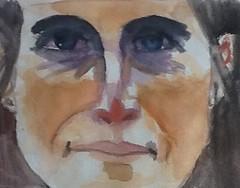 Natasha - jkpp (pensezel/✎) Tags: jkpp portrait drawing watercolor