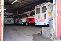 Frostee Ice Cream Truck Depot (thoth1618) Tags: ny nyc newyork newyorkcity brooklyn bushwick icecream truck depot icecreamtruckdepot frostee trucks garage warehouse