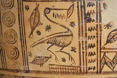 Argive Late Geometric monumental globular pyxis (detail 2: water bird with fish) (diffendale) Tags: 8thcbce mid8thcbce late8thcbce 2ndhalf8thcbce 3rdquarter8thcbce 730sbce 720sbce 710sbce lategeometric geometric argivelategeometric pyxis globularpyxis monumental ironage pleiades:findspot=570106 argos άργοσ ἄργοσ argo аргос آرغوس argive greece ελλάδα grecia griechenland grèce греция yunanistan greek greco grecque اليونان ελληνικόσ bird waterbird fish pesce pottery ceramic keramik κεραμικά céramique seramik керамика çömlekçilik керамику сосуд فخار pot vase vessel fictile ceramica fittile