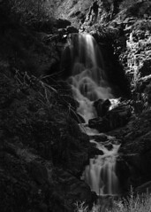 Carson Falls (Old as you feel, Fujinite) Tags: blackandwhite fuji fujifilm fujinon xt3 55200 waterfall long exposure acros outdoor nature landscape california carsonriver