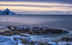 Well... (katrin glaesmann) Tags: lofoten norwegen norway 2019 wwwicelandtoursnet nordland winter sea unterwegsmiticelandtours photographyholidaywithicelandtours mountainsvestvågøy longexposure